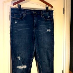 Blank NYC Highrise Distressed Jeans